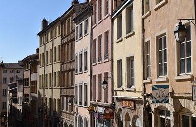 Buildings in Croix-Rousse Area, Lyon