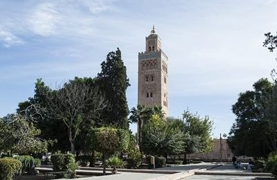 Mosque in Marrakech