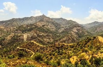 Troodos Mountains landscape